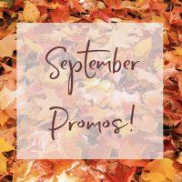 September Promos